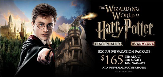 Travel Packages For Harry Potter Theme Park