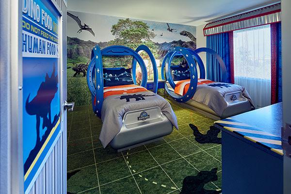 Loews Royal Pacific Resort Jurassic World Kid Suites