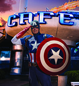 Marvel character dining package