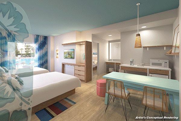 Universal Studios Orlando Endless Summer Resort – Surfside Inn and Suites