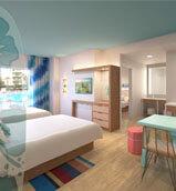 surfside inn suites at Universal Studios