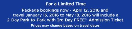 3rd day free universal studios