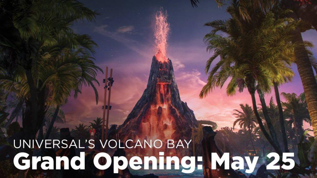 Volcano Bay Opening Date