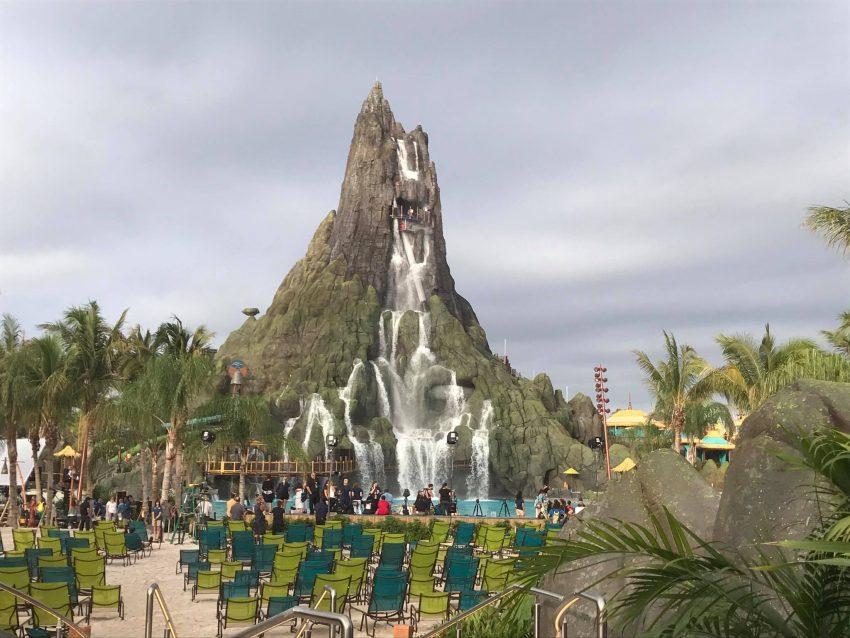 Volcano Bay Water Park Rides