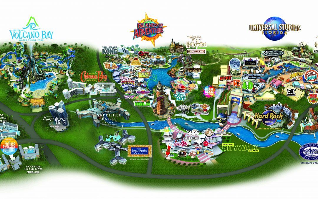 Universal Orlando Resort Park Maps - Universal Studios