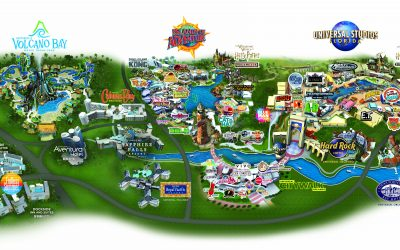 Universal Orlando Resort Park Maps