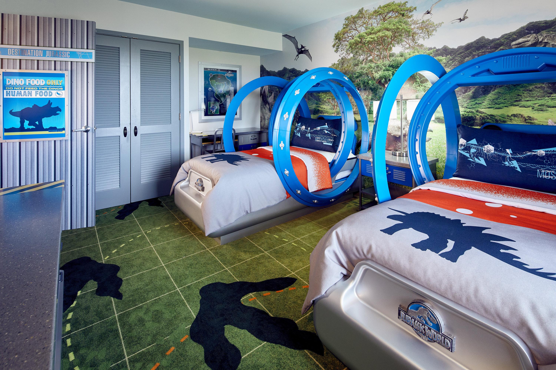 Universal Orlando Jurassic park room