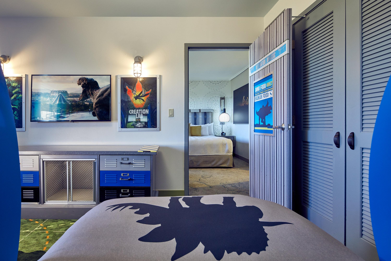 JUrassic park suites at Universal studios