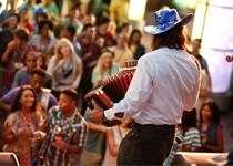Mardi Gras live music at Universal Studios