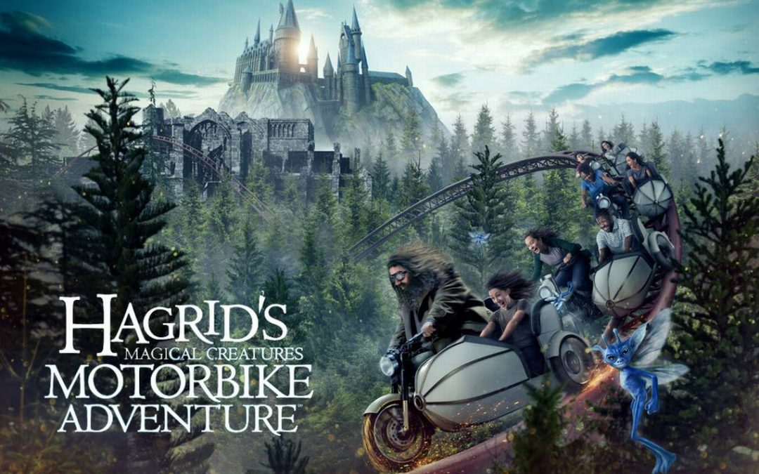 Hagrid rides into Universal Orlando Resort June 13