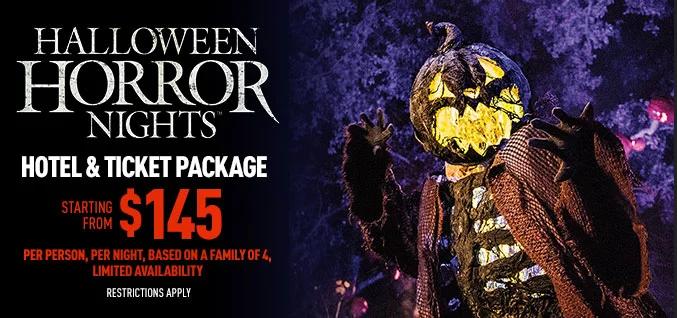 Universal Studios Halloween Horror Nights 2019.Halloween Horror Nights Hotel Ticket Package Universal Studios