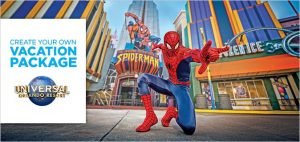 universal studios create your own vacation package