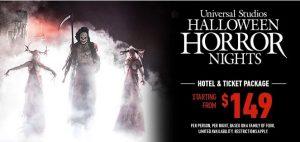 Halloween Horror Nights Hotel & Ticket Package