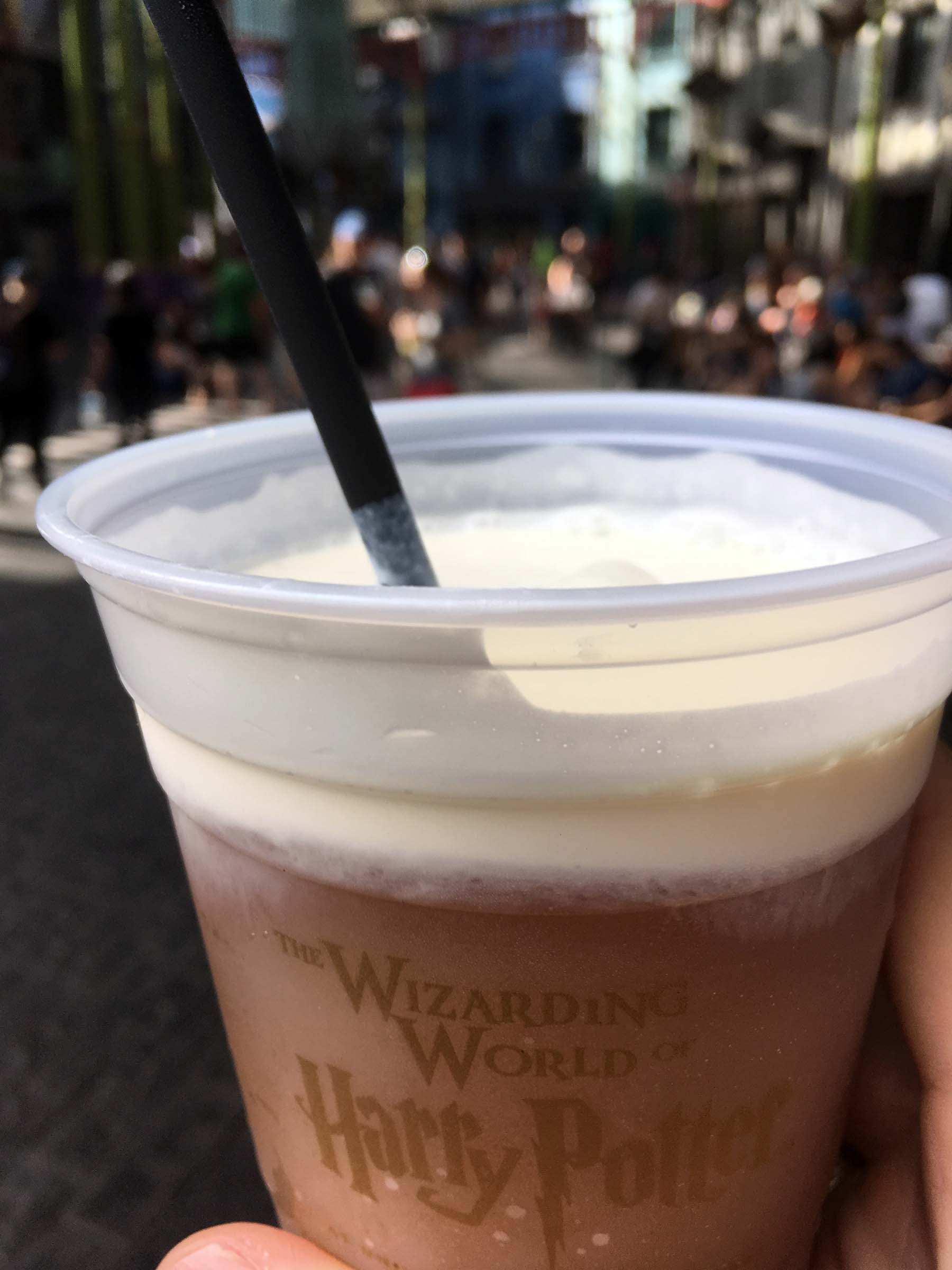 ButterBeer is a Snack Credit